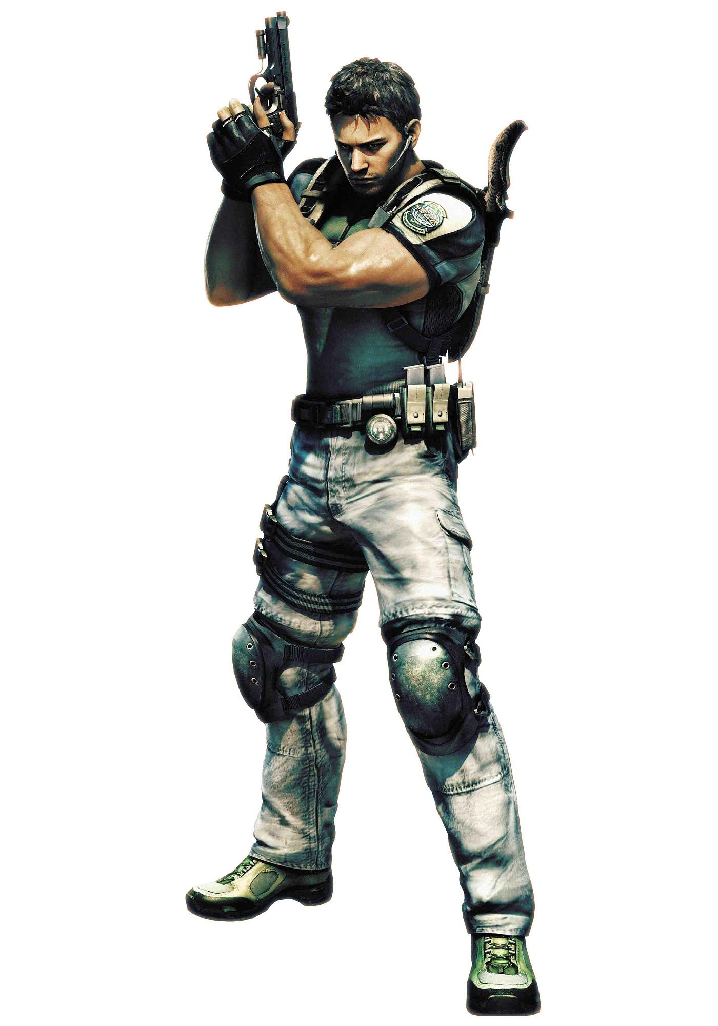 Character breakdown: Chris Redfield