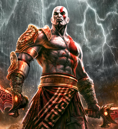 Gain the Body of Kratos
