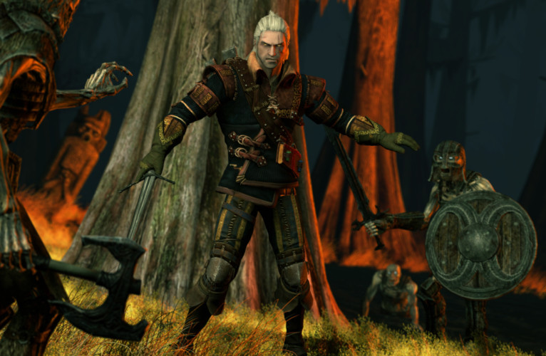 The Skills of Geralt – Be a Game Character
