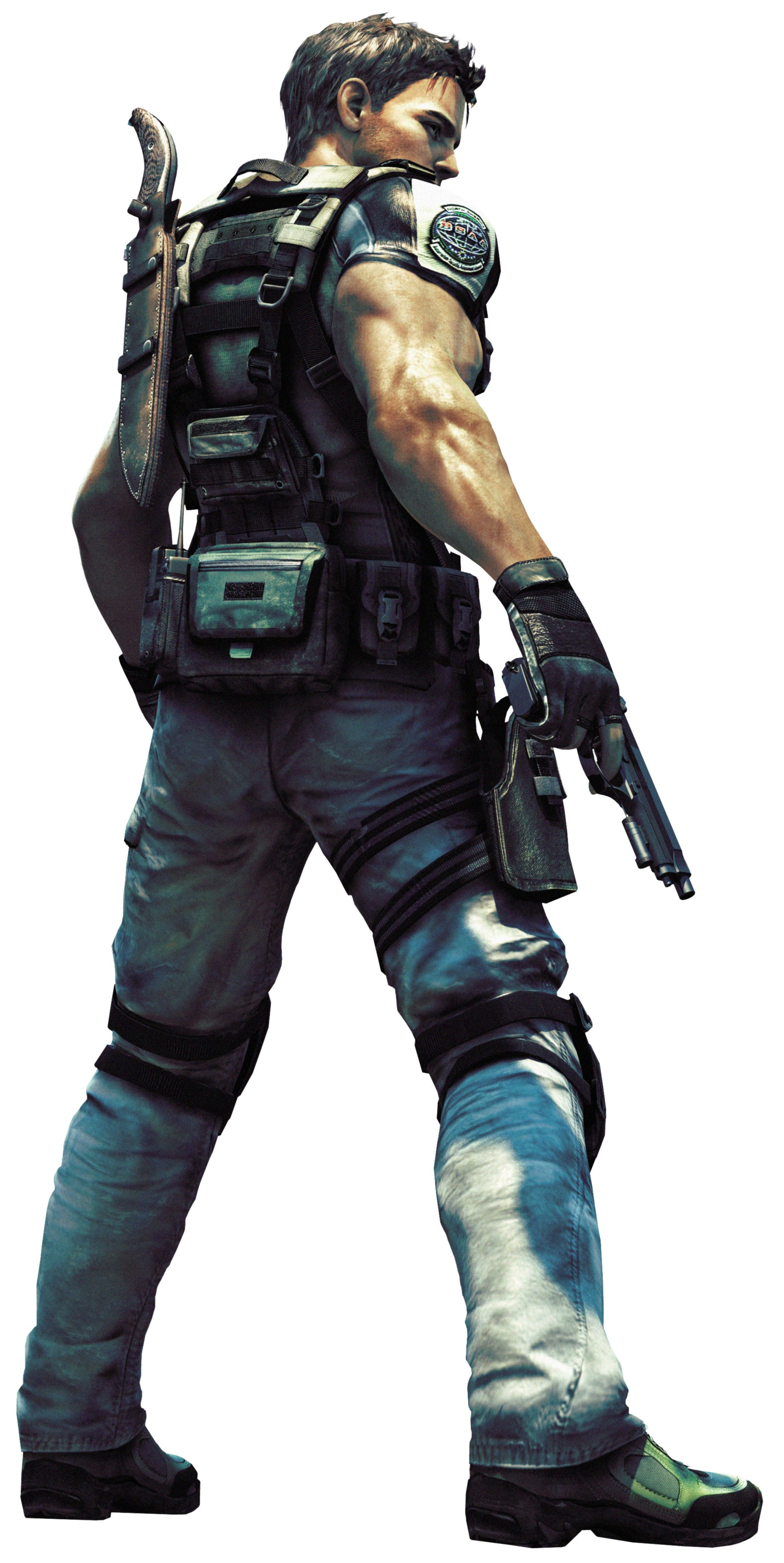 The Skills of Chris Redfield – Be a Game Character