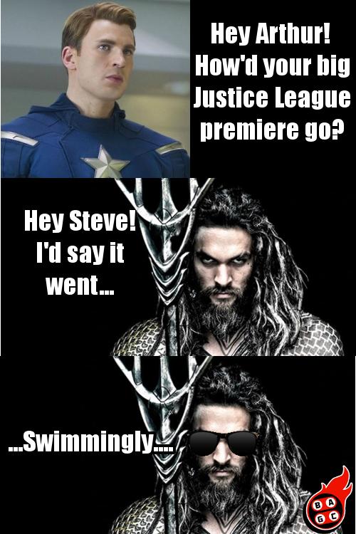 Aquaman Pun